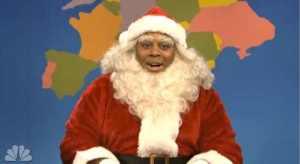 'Black-As-Hell'-Santa-Claus-Appears-on-SNL's-Weekend-Update-to-Address-Megyn-Kelly-Mediaite