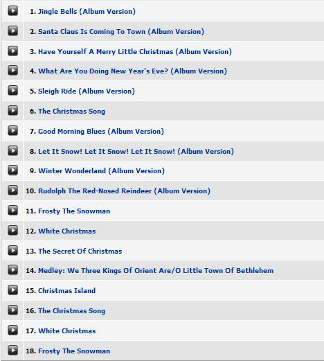 Ella Wishes You A Swinging Christmas.My Favorite Christmas Recordings 3 Ella Fitzgerald Ella