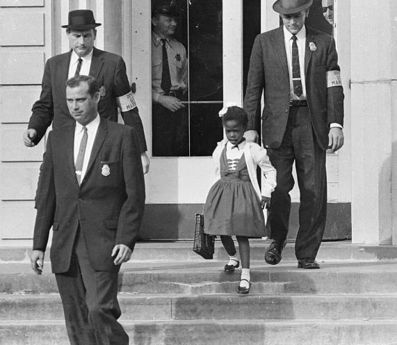 Ruby-Bridges-first-african-american-to-attend-a-white-elementary-school-in-the-South-Nov.-14th-1960