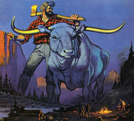 a story of paul and babe Paul bunyan is a larger-than-life folk hero who embodies frontier vitality he is a symbol of might, the willingness to work hard, and the resolve to overcome all.