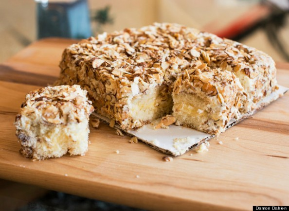 Burnt Almond Torte