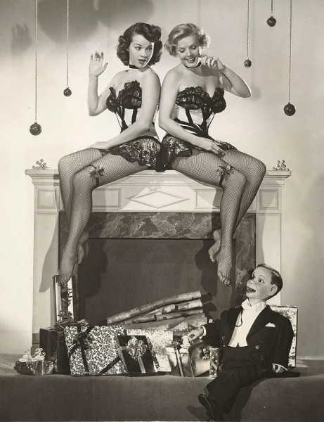 stockings by chimney