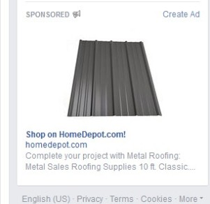 Today I was looking at steel roofing for my garage--not as provocative as bras, but still pretty appealing, especially if you've got two leaks and a couple of soft spots.