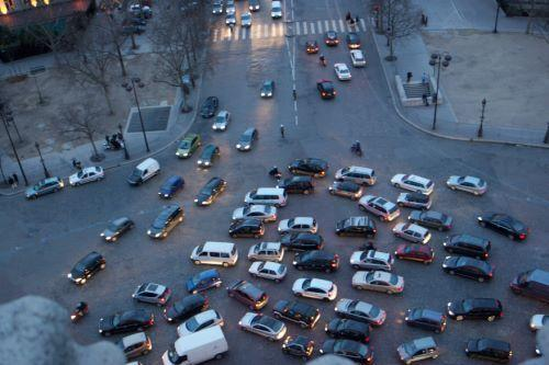 French traffic circle