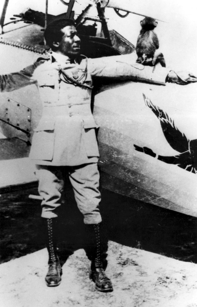 Eugene Jacques Bullard. (U.S. Air Force photo)