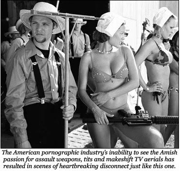 Real amish porn