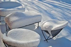 Snow Seating Modern Outdoor Furniture
